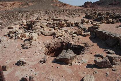 Древние шахты запечатлели резкие скачки магнитного поля Земли